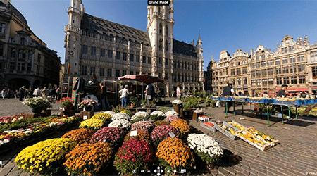 Visite Virtuelle de la Grand-place de Bruxelles