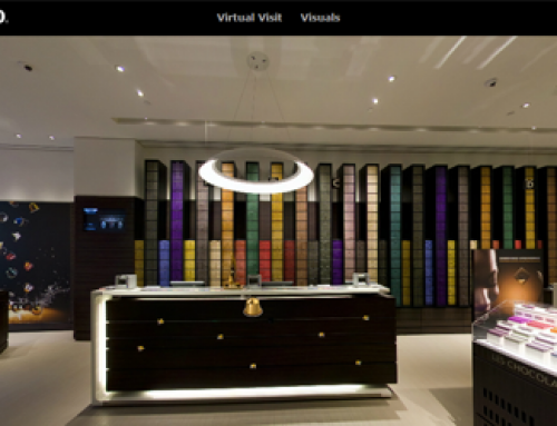 Visite Virtuelle de la boutique de Nespresso Antwerpen