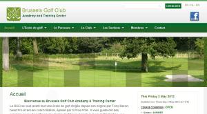 Site Internet Brussels Golf Club