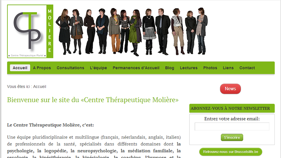Site Internet CTP Moliere