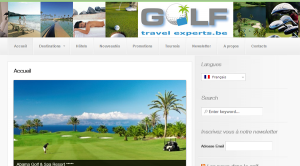 Site Internet Gold Travel Experts