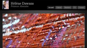 Site Internet Hélène Dawans
