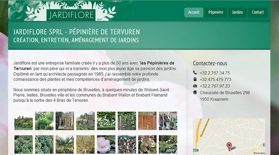 Pépinière-Jardiflore Site Internet