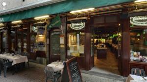 Visite Virtuelle Google Streetview du Restaurant Scheltema à Bruxelles dans l'ilôt sacré