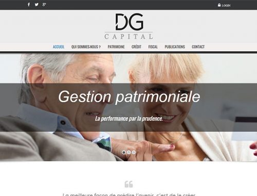 DG Capital – Gestion Patrimoniale (Site Internet)