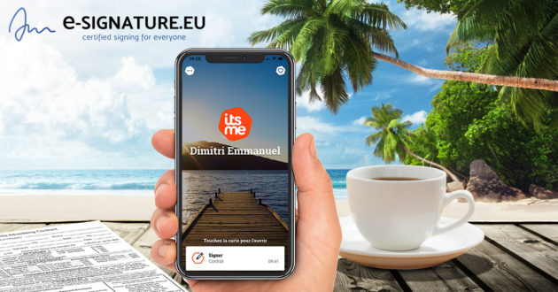 e-signature-qualifiée-itsme-sign-signer-doccle-document-contrat-iphone-smartphone