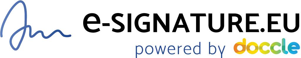 logo e-signature doccle itsme sign ondertekenen document contract iphone smartphone responsive